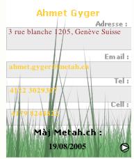 VisitCard ScreenShoot