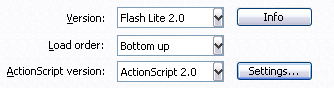 Flash Lite 2 exemple