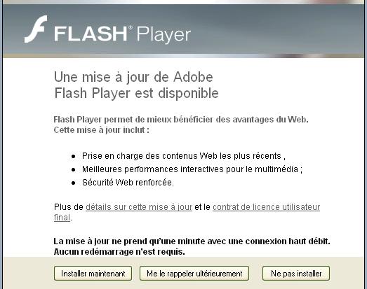 IE Flash AutoUpdate